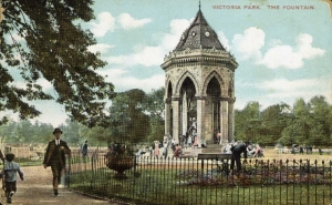 Victoria Park, Hackney, London - registered at Grade II*