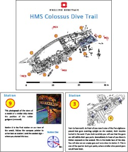 dive trail booklet