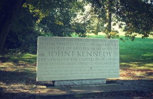 Memorial to President John F. Kennedy at Runnymede, Egham