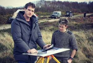 Dan Snow and Wayne Cocroft record the recently identified battlefield near Gosport.