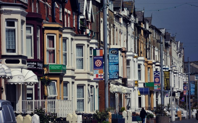 Looking for a B&B - Charnley Road is one of Blackpool's most popular streets