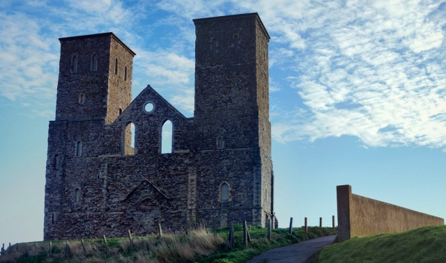 The Reculver Towers