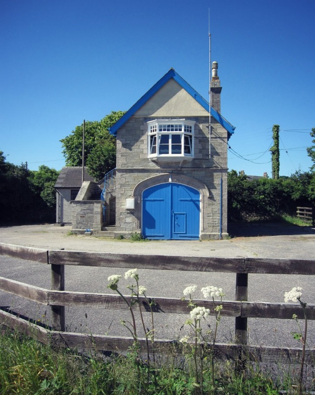 The Coastguard Station at St Agnes, Cornwall, built in 1893,is a handsome example of an Admiralty era station, listed at Grade II.