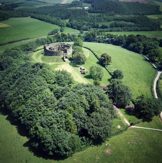 Lostwithiel battlefield-Restormel Castle AP