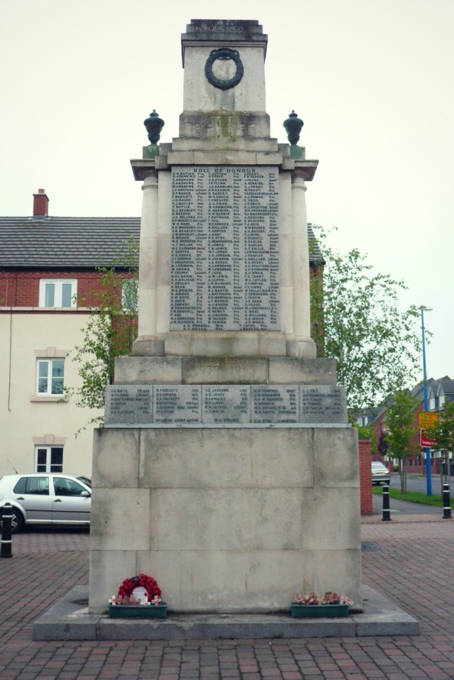 Fig 9 Cape Hill Brewery war memorial