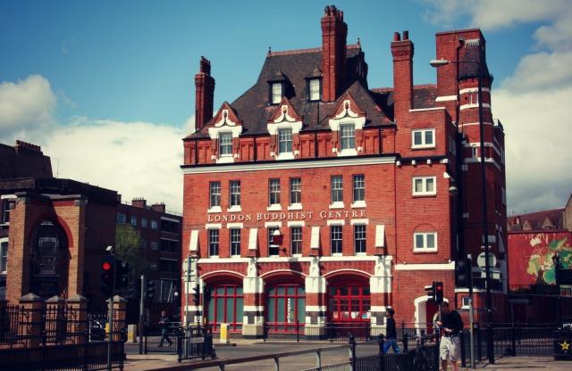 London Buddhist Centre (Triratna), former fire station. Image by Caroline Starkey (?)