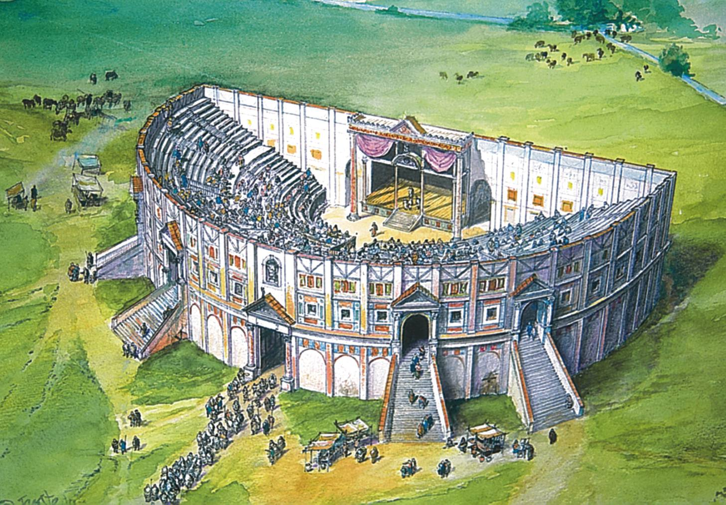 an analysis of the forms of entertainment in ancient rome The pantheon (latin: pantheum) is the best-preserved building from ancient rome and was completed in c 125 ce in the reign of hadrian its magnificent.