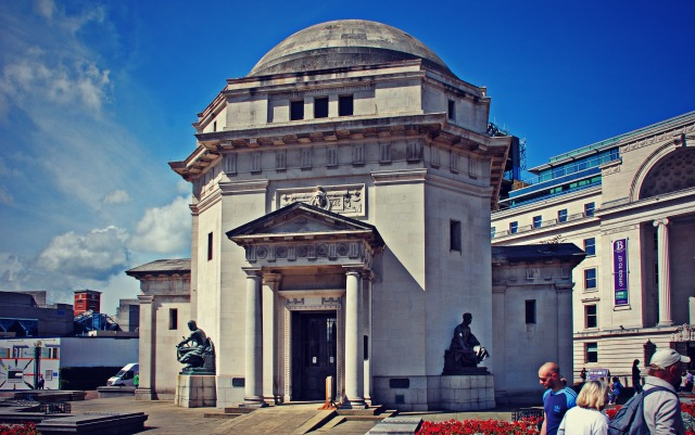 Hall of Memory, Birmingham  Designed by S.N. Cooke and W. Norman Twist. Grade I listed © Brian Clift