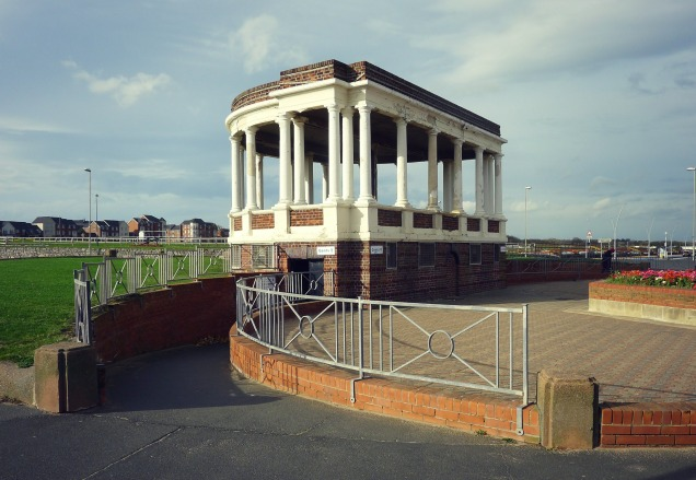 Gandhi's Temple at South Shields