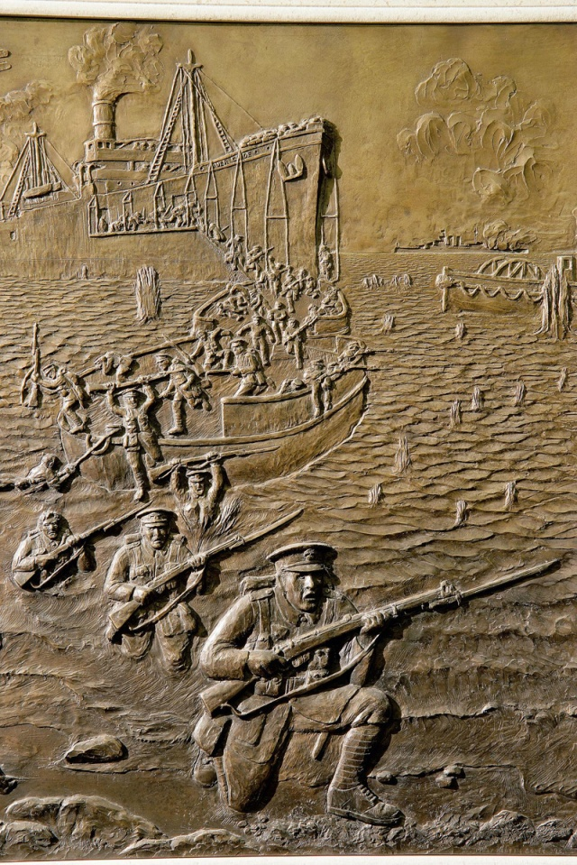 St Pauls Cathedral small Gallipoli landings, 1915-16