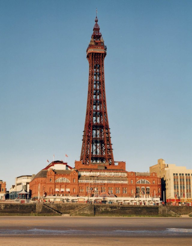 The Blackpool Tower and promenade © Historic England