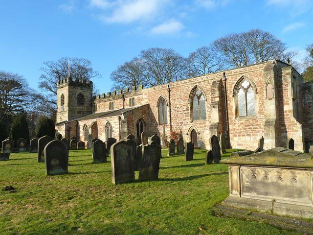 St Peter's Church, Croft on Tees. Copyright Paul Buckingham.