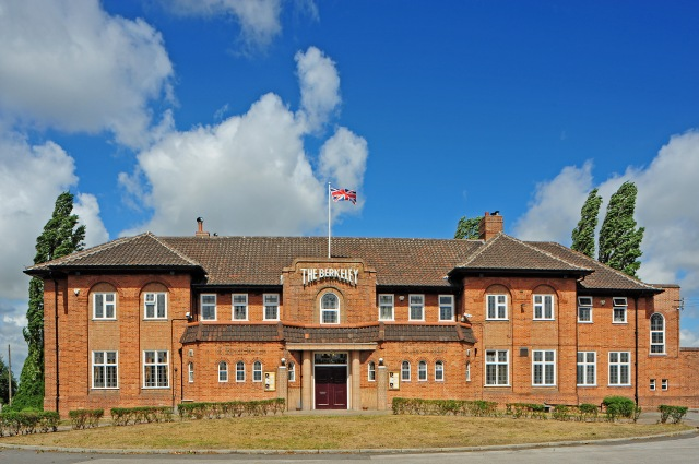 The Berkeley Hotel, Scunthorpe, built in 1940. It has been listed at Grade II. © Historic England