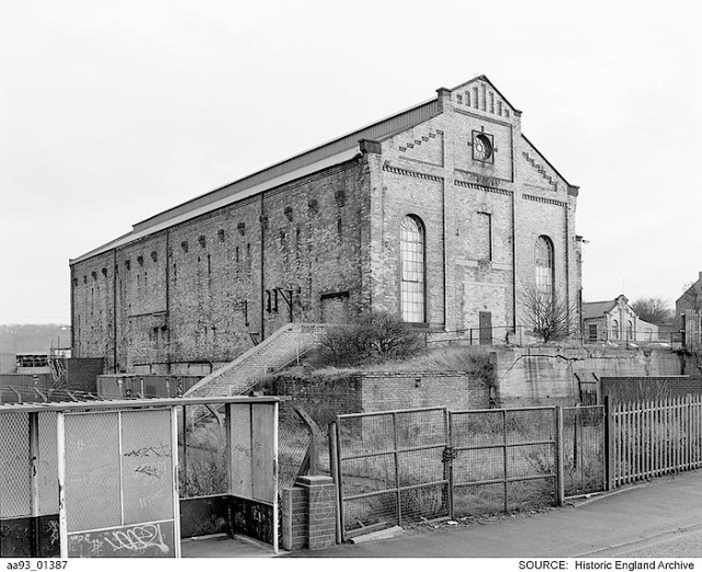 The Philadelphia Power Station, Tyne and Ware © Historic England Archives aa93_01387