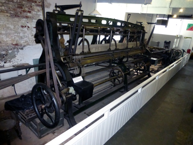 An exhibit at the Nottingham Industrial Museum