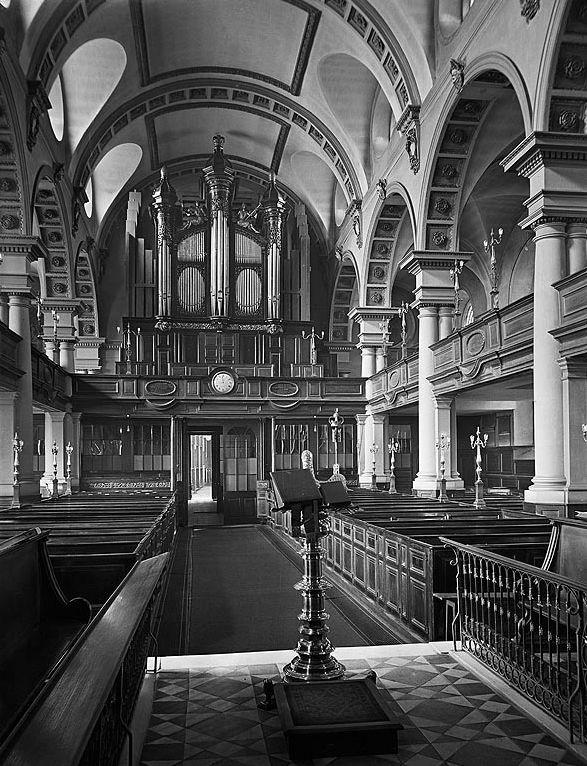 St Brides church London