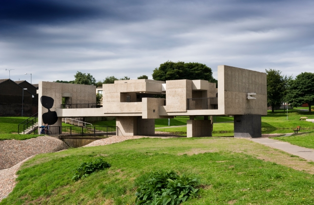 Apollo Pavilion, Peterlee, County Durham 1969-70, Victor Pasmore; grade II* (c) James O. Davies