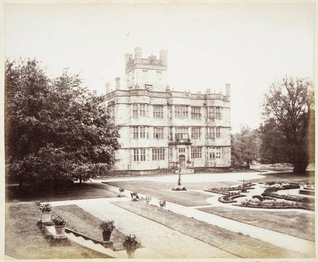 Archive image of Gawthorpe Hall (c) Historic England Archive
