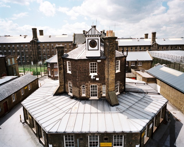 General view of administration building, HMP Brixton, Greater London, Lambeth