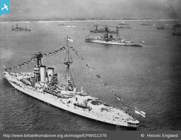 HMS warspite britain from above EPW011376