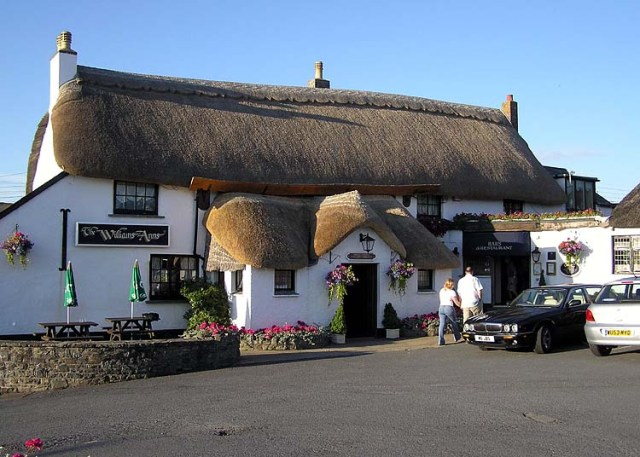 The Grade II listed Williams Arms in Devon
