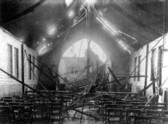St Barnabas' parish hall. Image courtesy Newham Archives & Local Studies Library.