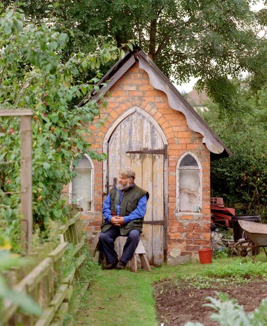 Mr Lander, Stoney Road Allotments, Coventry West Midlands