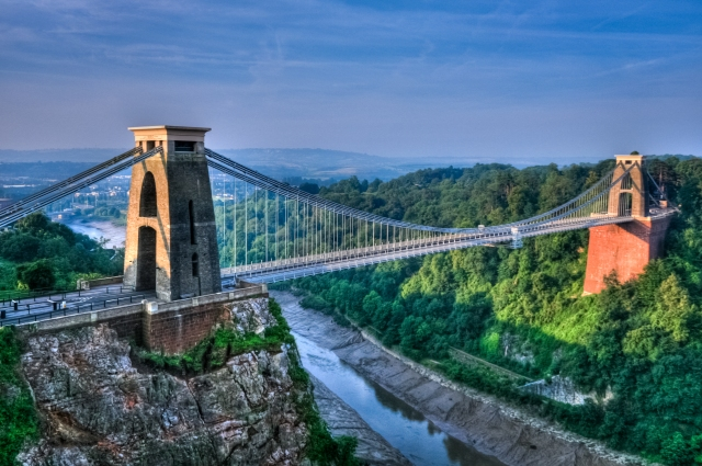 Clifton Suspension Bridge - via Flickr - needs credit