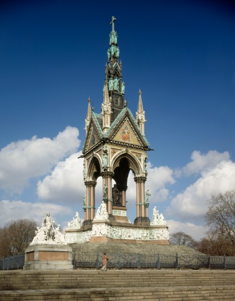 albert memorial from south west