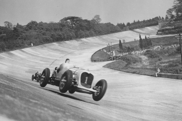 brooklands historic photo Copyright Brooklands Museum Surrey