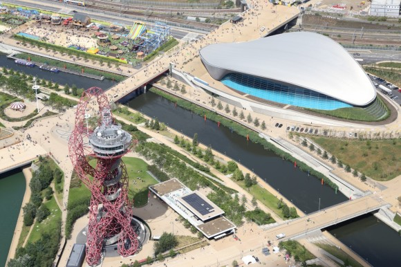Aerial photos taken of the Park during July 2015 c Queen Elizabeth Olympic Park - Copy