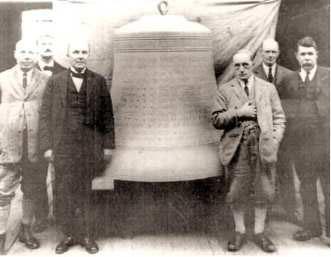 loughborough carillon tower largest memorial bell by permission of Loughborough Carillon Tower and War Memorial Museum
