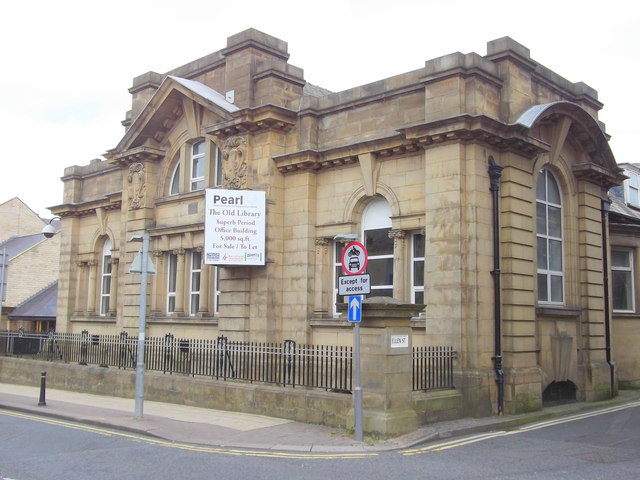 The Old Library, Nelson, Lancashire © Copyright robert wade