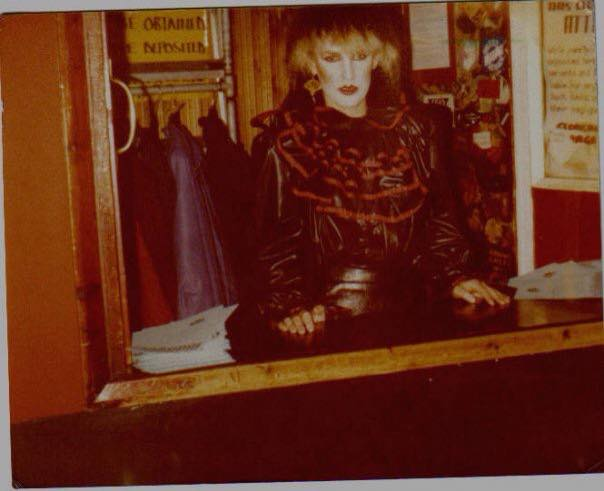 Yes. Thats me working in the cloakroom at the Marquee Club Wardour Street in the evening after working on the Kings Rd. selling clothes all day to the likes of Duran Duran, Spandau Ba