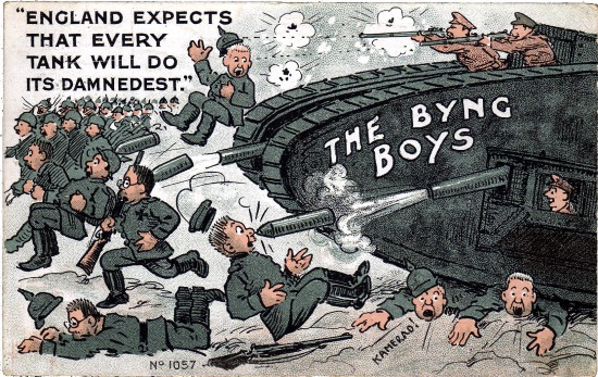 byng boys cartoon courtesy of tony allen of picture postcards of the great war 1914-1918
