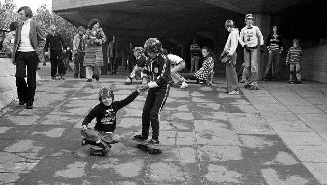 Southbank 1976 by Brian Gittings