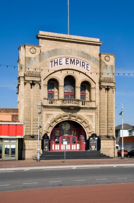 The Empire Cinema, Marine Parade, Great Yarmouth c Historic England DP057197