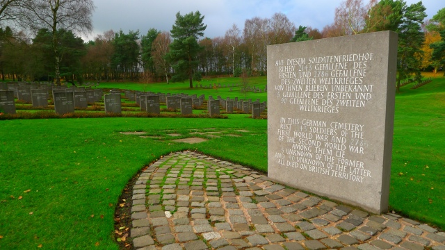 german military cemetery cannock chase + stone c wayne cocroft