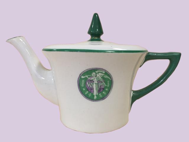 Suffragette teapot