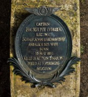 Captain Lubbock's plaque. Image © Historic England/DP182996. When the family sold their estate in the 1930's, the gravestones were moved and Captain Lubbock's plane disappeared. Decades later, a vigilant member of the public spotted the memorial in a stonemason's yard in Wiltshire. The mason refused to relinquish it, but eventually the plane was put up for auction and the family bought it back for £8,000. The restored memorial was re-sited in 2010 near its original location in what is now High Elms Country Park.