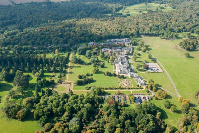 Oblique aerial view of Ashridge c Historic England - Copy