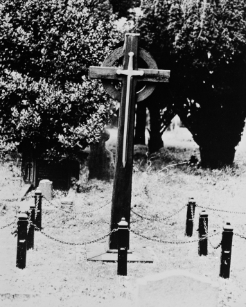 Memorial cross to those who died