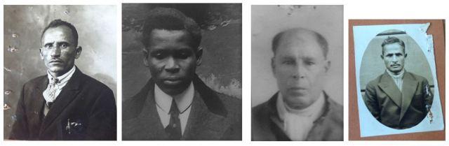 Left to right: Mohamed Achmed, Samuel Hinds, Murshed Saleh, Hamid Ali. Images courtesy of Jim Baker.