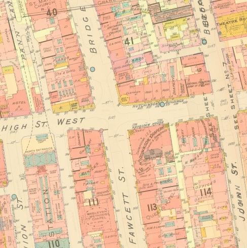 1894 Goad map