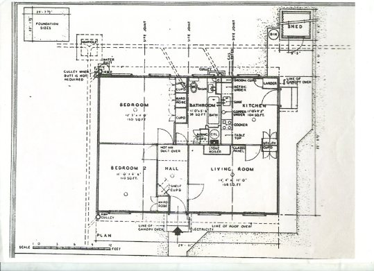 Blueprint image of the