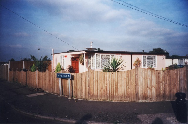 A Uni-seco prefab on the Excalibur Estate