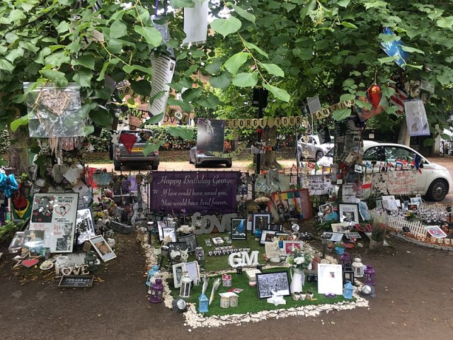 A memorial to garden to George Michael
