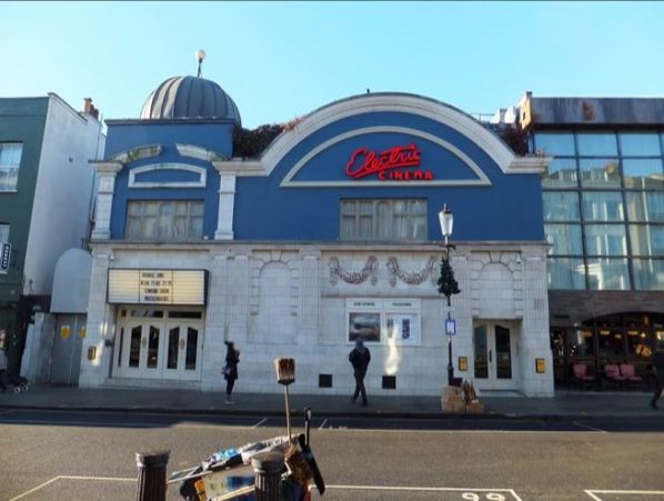 The Electric Cinema in Notting Hill