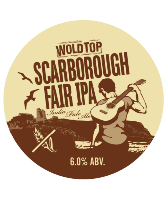 Scarborough Fair IPA label