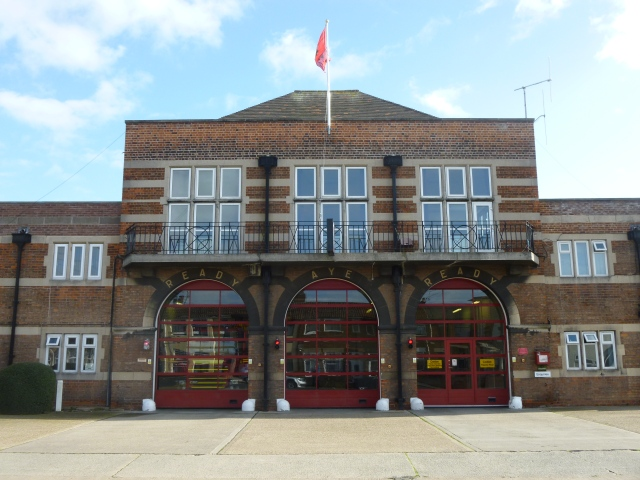 Exterior view of East Hull fire station